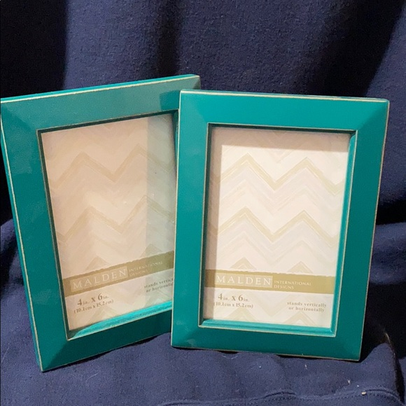 Jewel green 4 x 6 picture frame